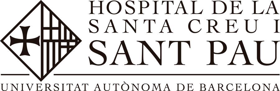 Logo Hospital de la Santa Creu i Sant Pau